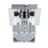CEILING FITTING 1LT G9 CHROME/CRYSTAL EL2000