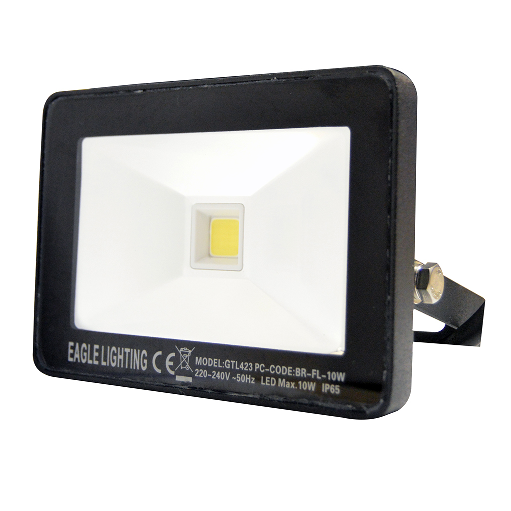 FLOODLIGHT 10W COB 4000K BLACK GTL423