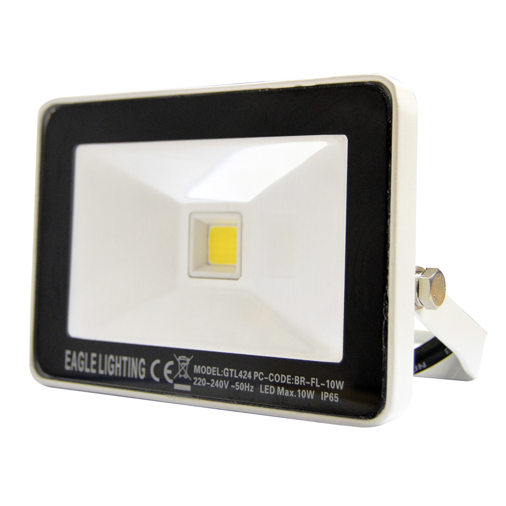 FLOODLIGHT 10W COB 4000K WHITE GTL424