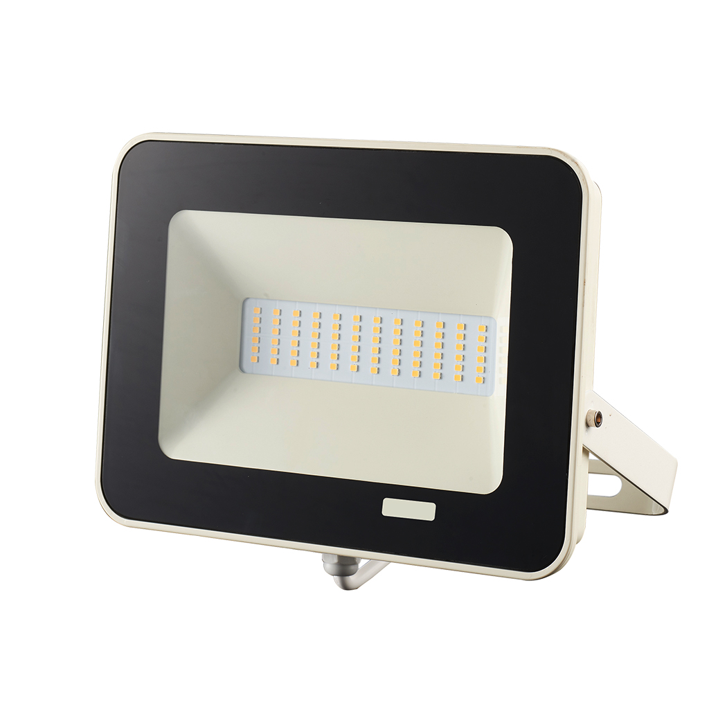 FLOODLIGHT 20W 4000K SENSOR DAY/NIGHT WHITE GTL447