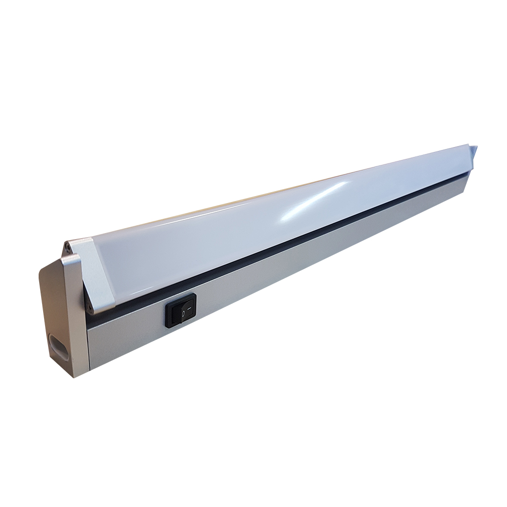 STRIPLIGHT LED CABINET ADJUSTABLE 10W SILVER GTL516
