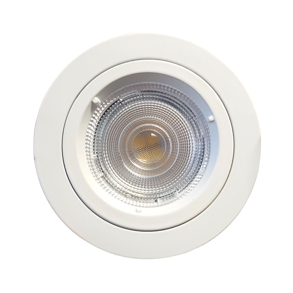 DOWNLIGHT FIXED ROUND BAYONETT WHITE JIN103/70MM/NO LH