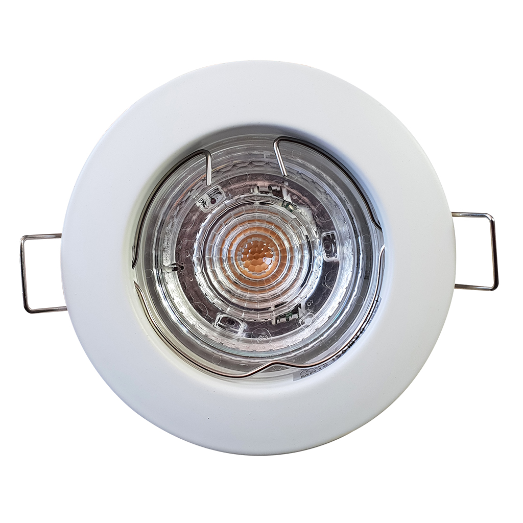 DOWNLIGHT FIXED ROUND SPANISH WHITE JIN120/UNW