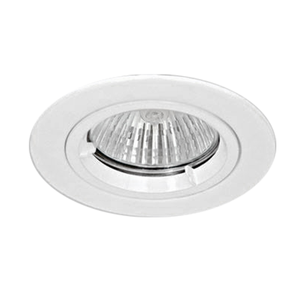 DOWNLIGHT FIXED BAYONETT ROUND WHITE KK103/68MM C/O