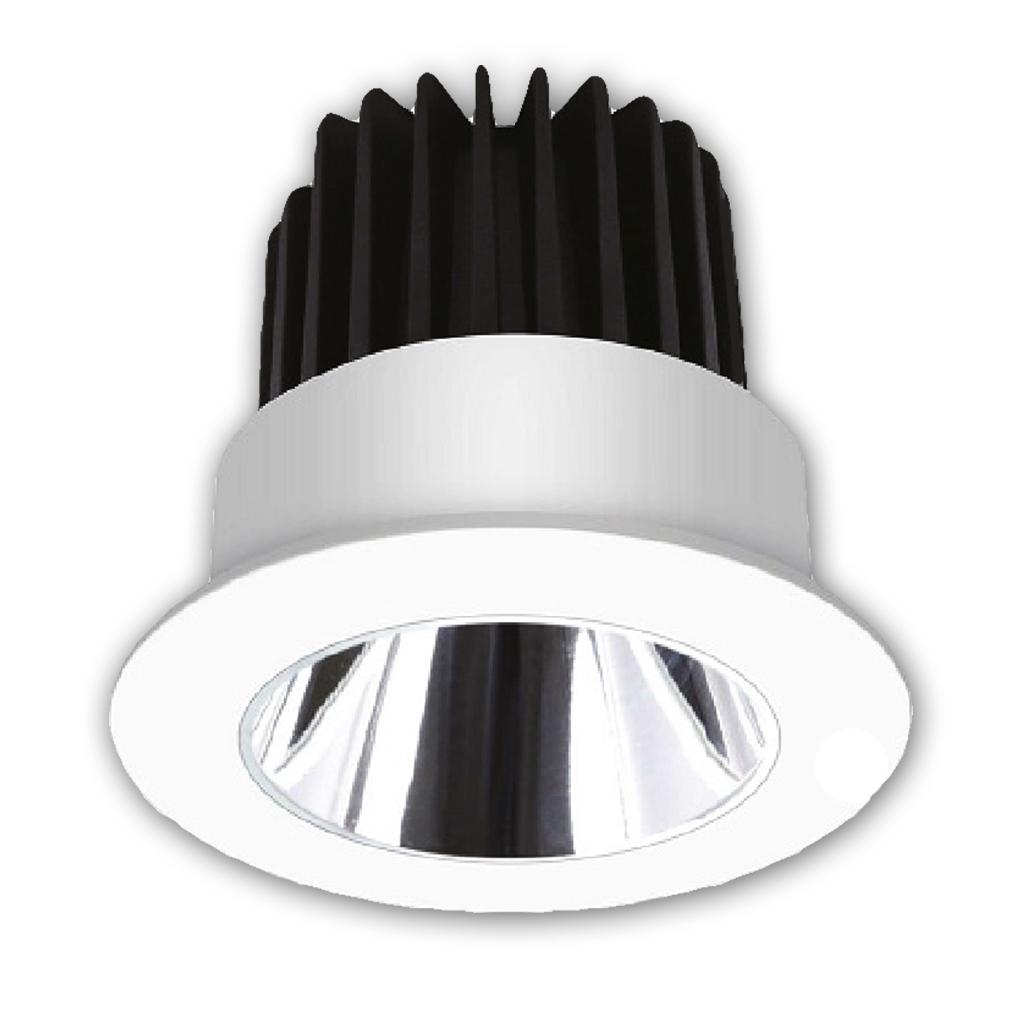 DOWNLIGHT LED 9W 3000K WHITE DIMM KK1963/DIM