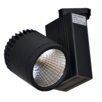 SPOT TRACK LED 35W 3500K BLACK MAN330/35
