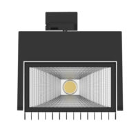 SPOT TRACK LED 40W 4000K BLACK MAN336