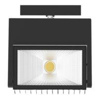 SPOTLIGHT LED 40W 4000K BLACK MAN336/SUR