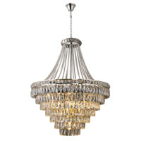 CHANDELIER FITTING 13LT E14 CRYSTAL CHROME OM500