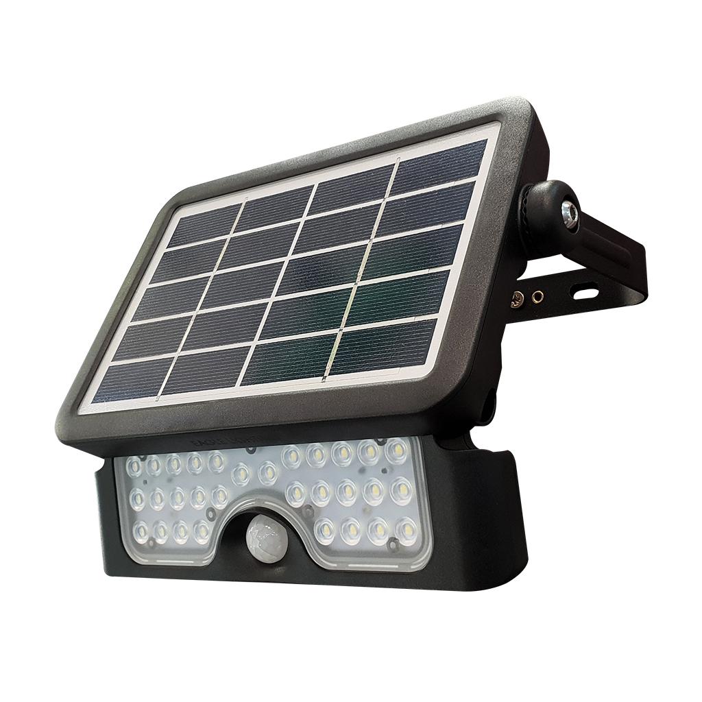 FLOODLIGHT SOLAR LED 5W 6000K IP65