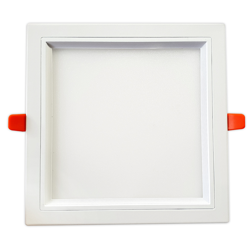 DOWNLIGHT SQUARE 22W 4000K NON DIM WHITE