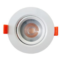 DOWNLIGHT LED 6.5W 3000K ROUND NON DIMM  WXX100