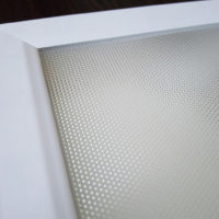LED PANEL 40W 600X600 DIM HONEYCOMB WHT  WXX601