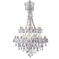CHANDELIER FITTING 30LT E14 CRYSTAL CHROME ZCL900/30