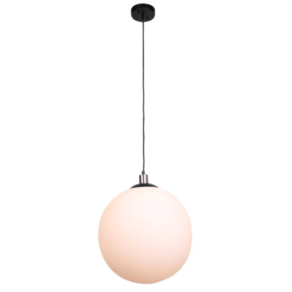 PENDANT OPAL GLASS BALL 400MM – KAV9007/OP/400