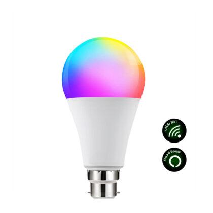 LAMP LED RGB WIFI 9W B22 WXX992