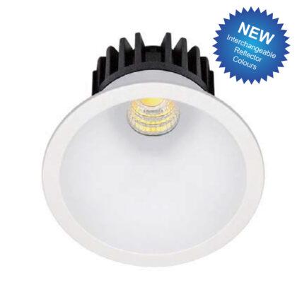 DOWNLIGHT LED 8W 3000K ROUND DIMM OFF WHITE KK1942/DIM